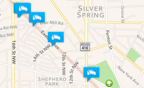 Shepherd Park Neighbors Tell Car2go Users To Stay Out Greater