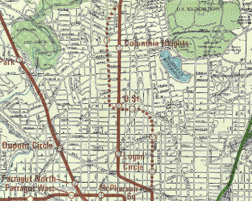 The Metro Plan Has Changed A Lot Since 1968 Greater Greater Washington