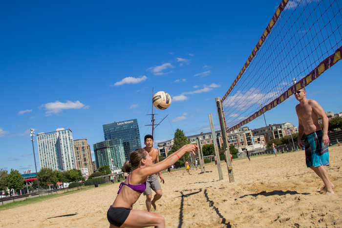 Baltimore Plans To Replace Beach Volleyball With A Parking Garage