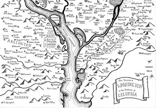 a different kind of  u201cfantasy map u201d  dc  tolkien