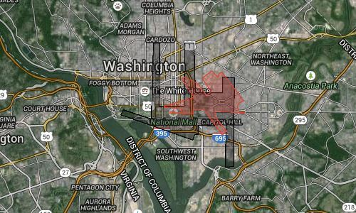 How Big Are Dulles And Bwi Airports These Maps Give You An Idea