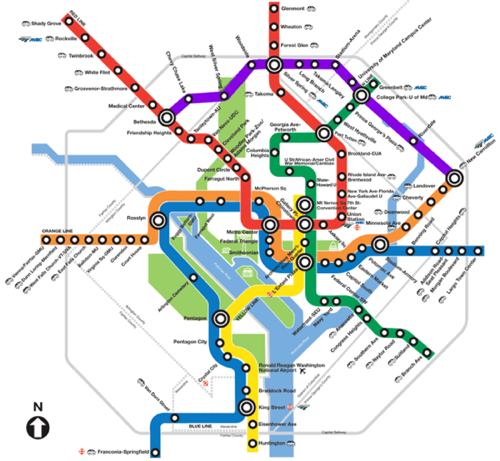 Will the Purple Line appear on the Metro map? – Greater Greater