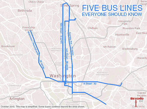 Five bus lines everyone in DC should know, love, and use – Greater