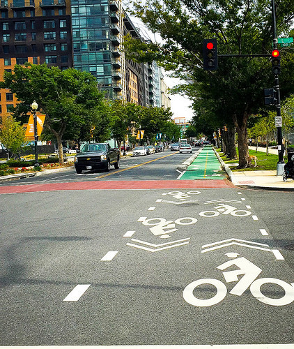 Misplaced Creativity On Southwest Bike >> Check Out Alexandria S Efforts To Make Crossing A Busy Street On A