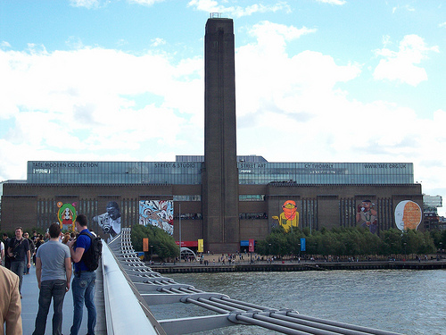 9ceebe26a389 The Tate Modern gallery is located in the former Bankside Power Station in  London. Image by Alquiler de Coches on Flickr.