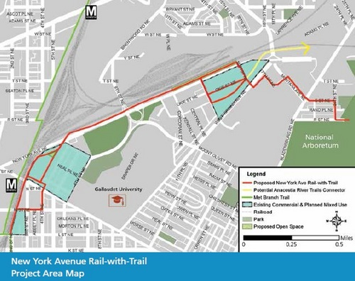 A Trail From NoMa To The National Arboretum Is In The Works - Us national arboretum map