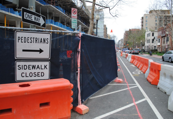 In Dcs West End Construction Projects Are Endangering Cyclists And