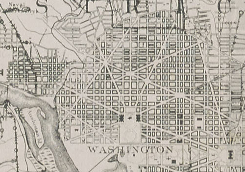 Check out this DC bike map from 1896 Greater Greater Washington