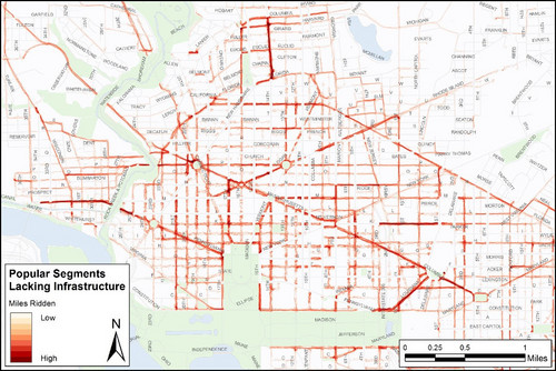 Dc Bike Share Map Capital Bikeshare members ride here, bike lanes or not – Greater