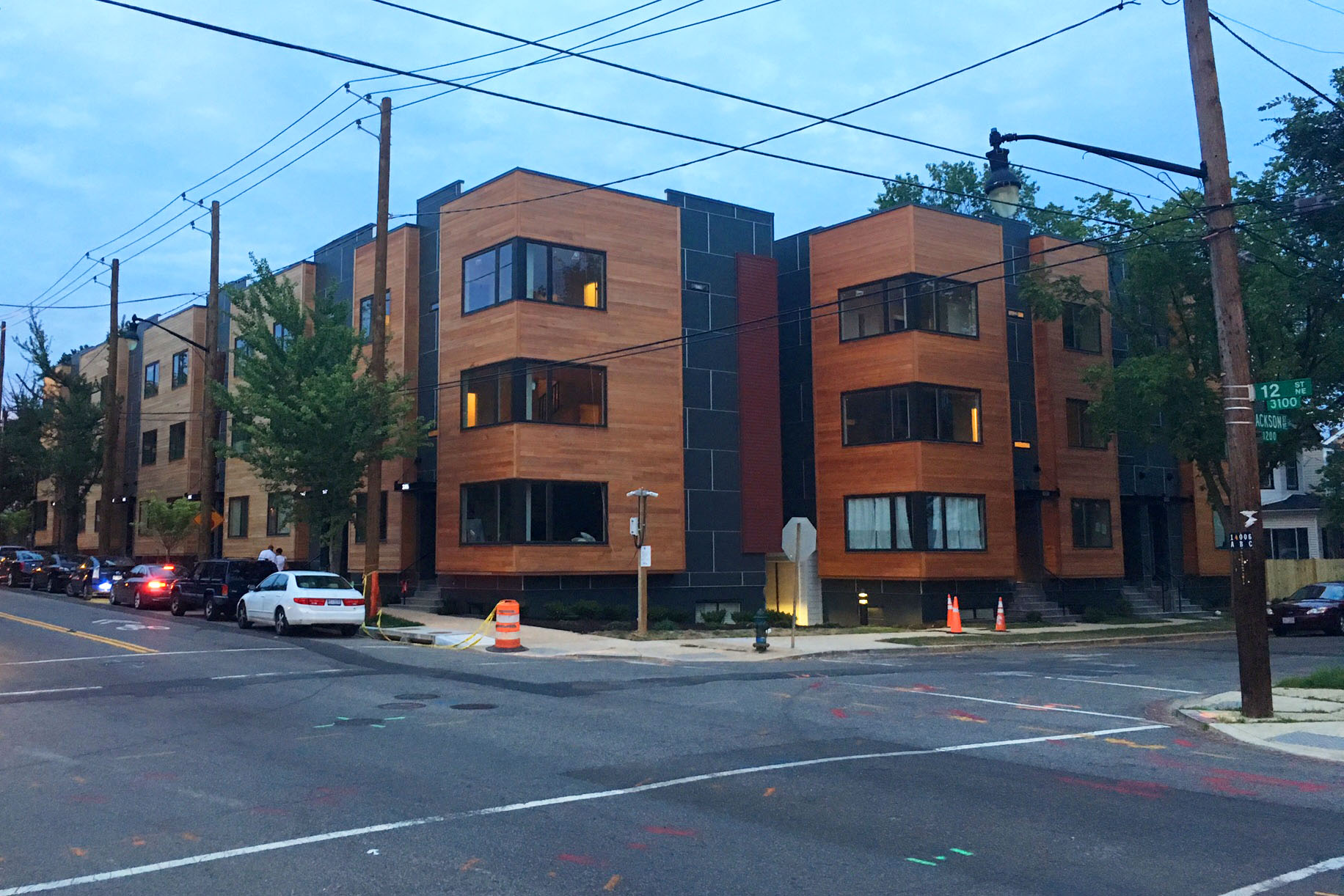 In praise of the stacked townhouse greater greater for Townhouse construction cost