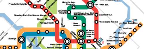 When the Metro first arrived in Shaw and Columbia Heights, they