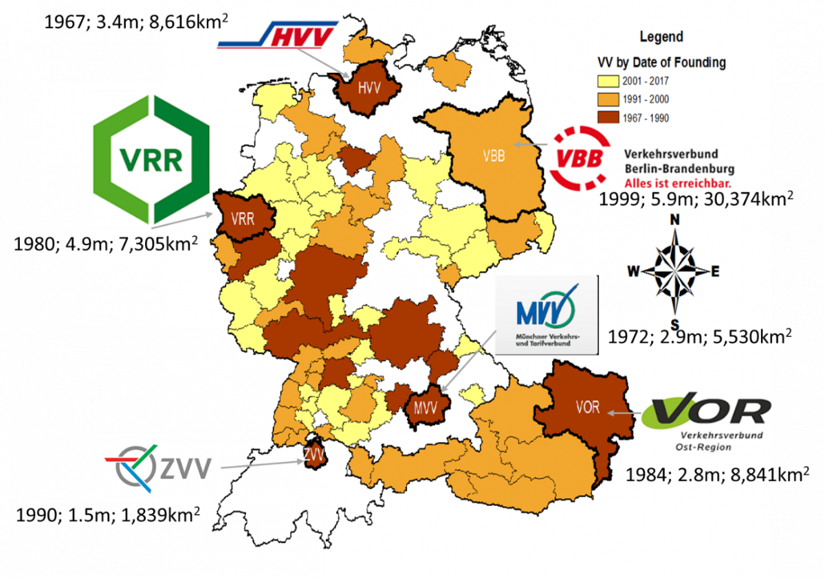 Map Of Germany Austria And Switzerland.How Germany Austria And Switzerland Metro Areas Coordinate Their