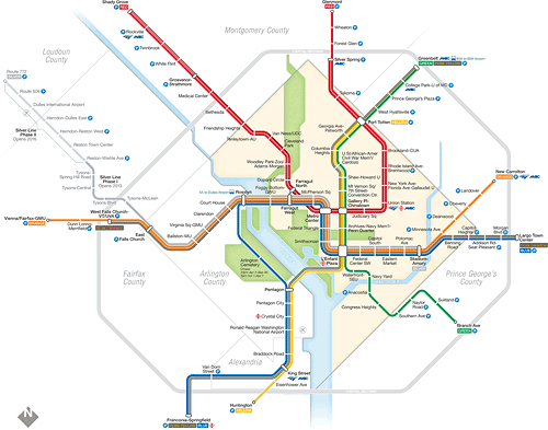 The Wrong Color Subway Map That Feels Just Right.How Would You Improve The Metro Map When It S Reprinted Greater