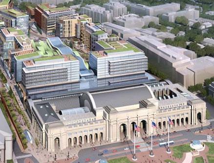 Amtrak Amp Akridge Imagine The Future Of Union Station