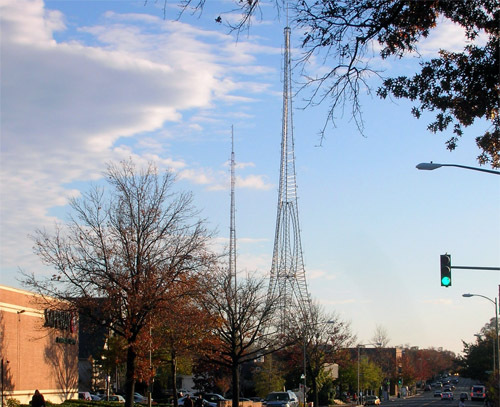 Forget the Washington Monument; DC's tallest tower is actually just north of Petworth