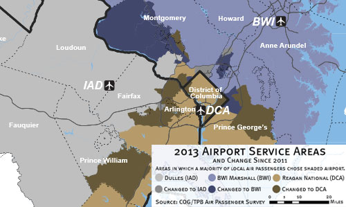 National Airport Will Get Better While Dulles Will Stay