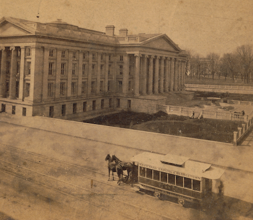 Take a peek at DC's first streetcar opening in 1862