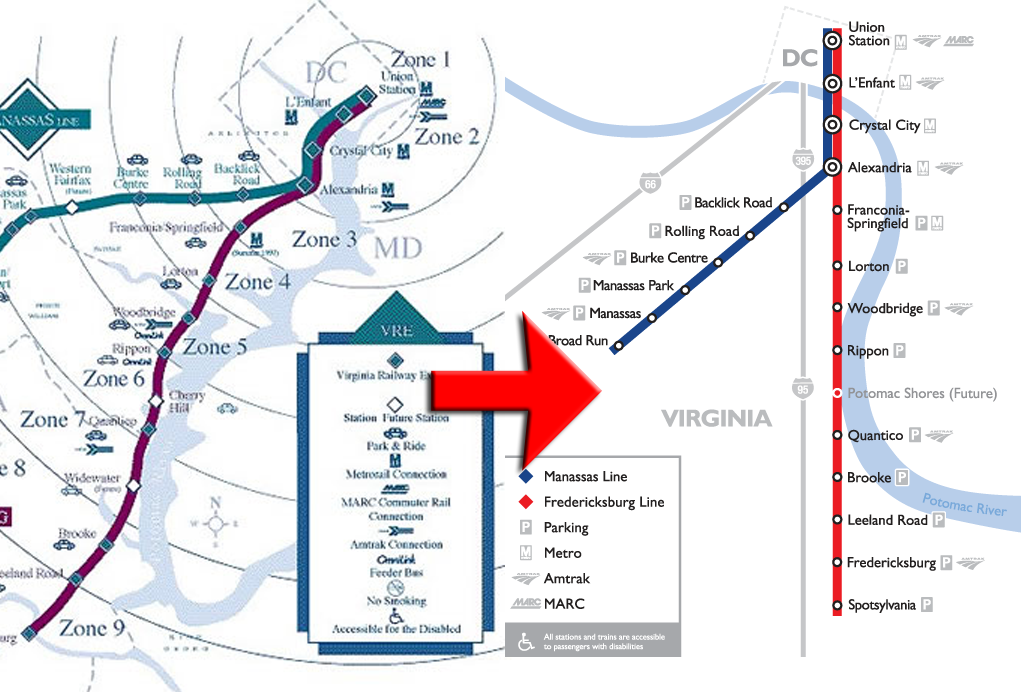 Vre U2019s Map Keeps Getting More Diagrammatic  U2013 Greater Greater Washington