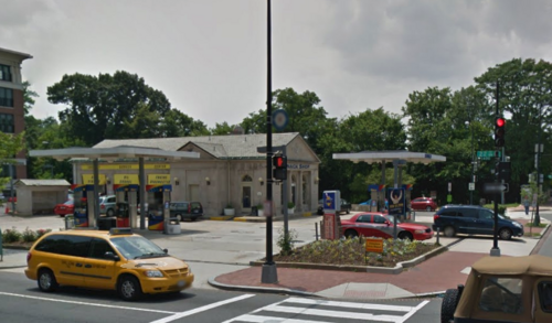 "Should a ""historic gas station"" keep new housing units ..."