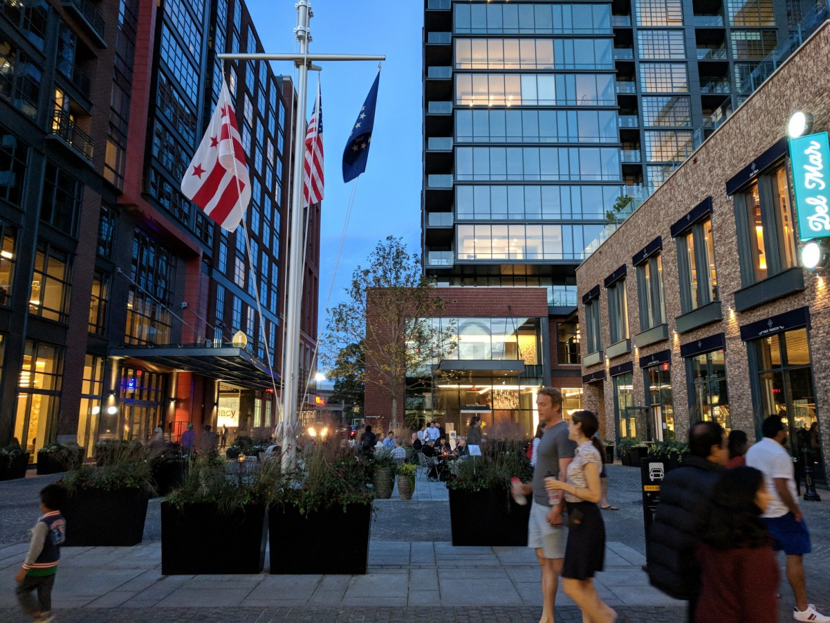 How Are The Wharf S Shared Spaces Working Out Greater