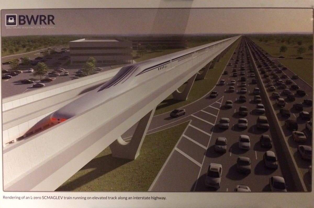 The Idea For A Maglev Train From Dc To Baltimore Keeps
