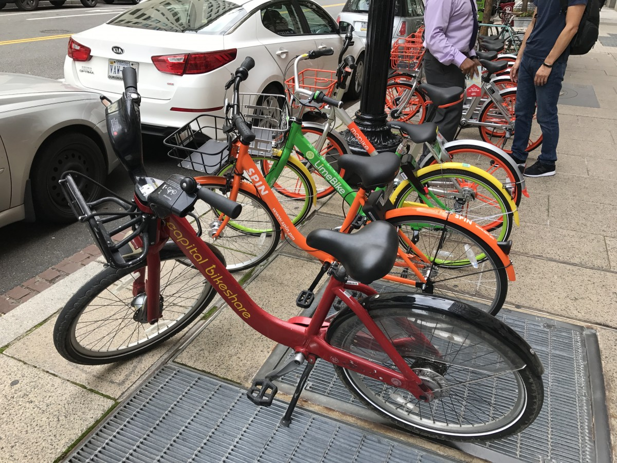 With the kinks worked out, dockless bike sharing could ... Public Policy Symbol