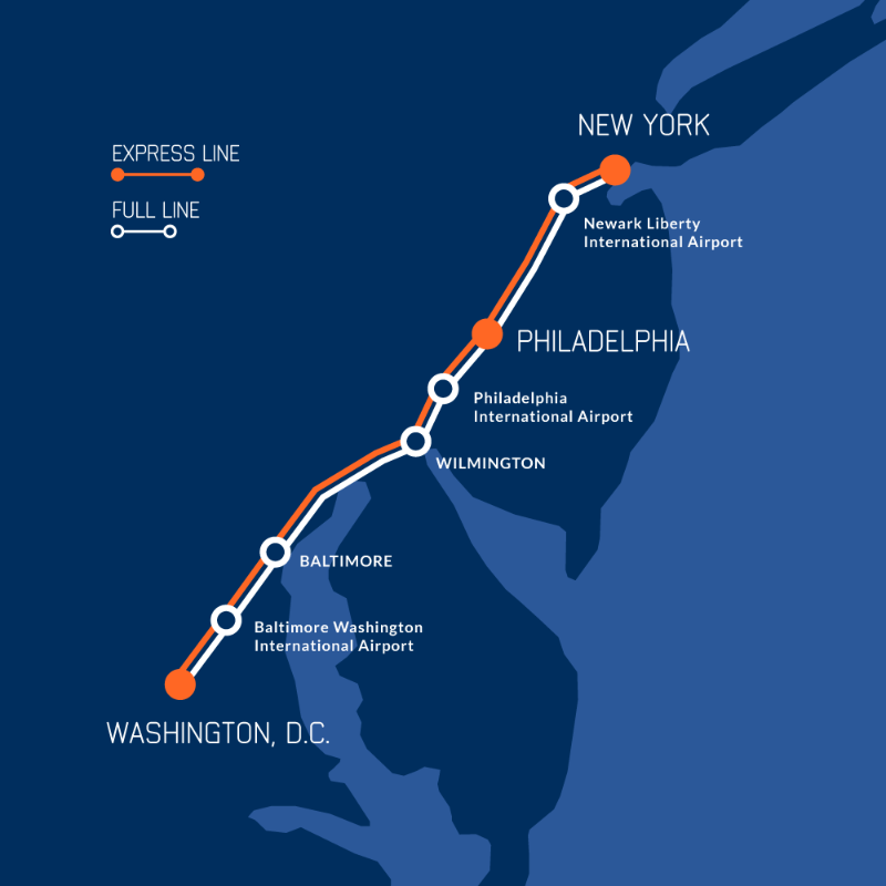 The idea for a maglev train from DC to Baltimore keeps…floating down ...