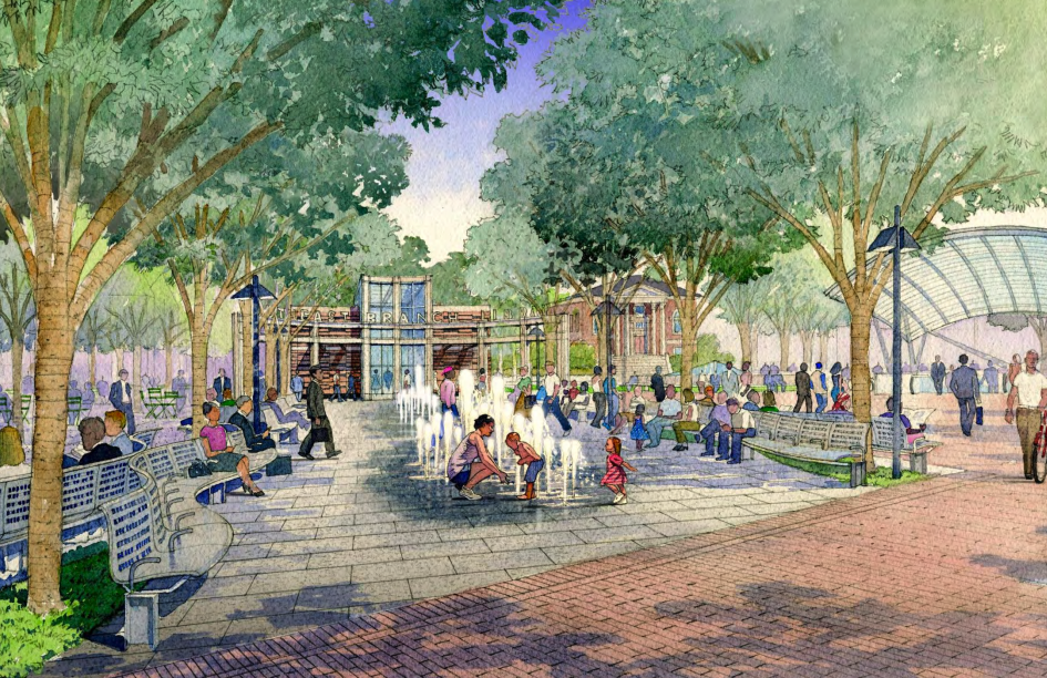 A New Park And Playground Are Coming To The Eastern Market