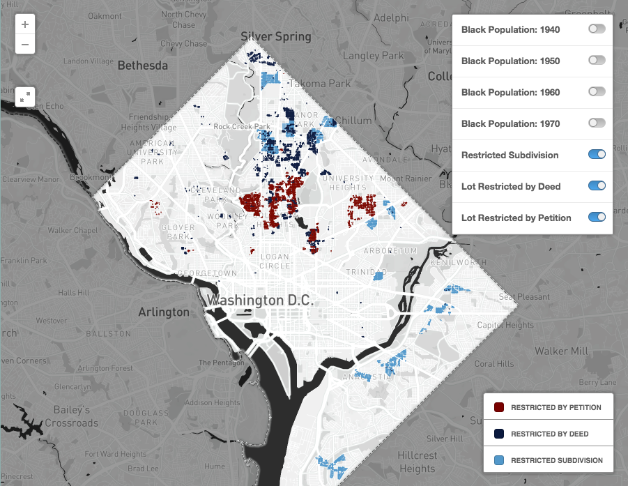 A mapping project shows how racial discrimination in housing ...