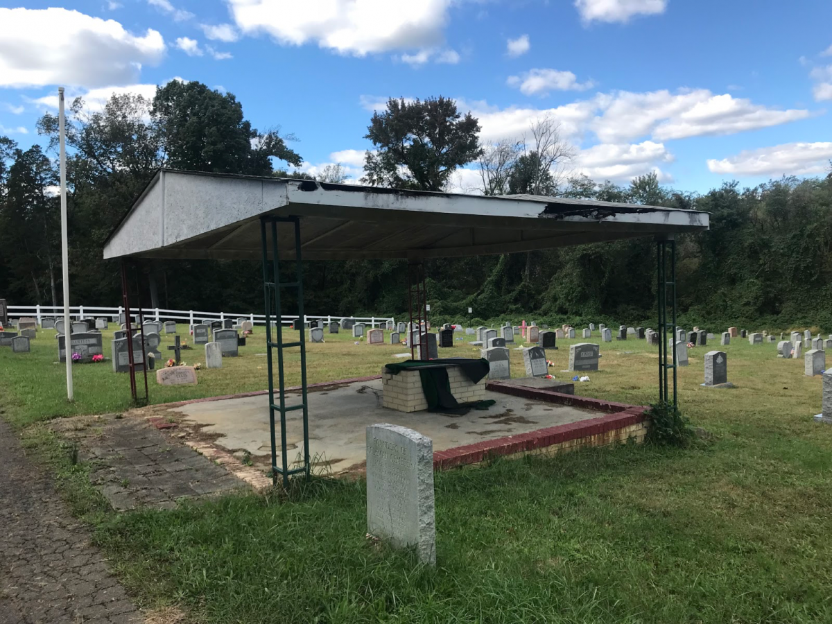 Cemeteries use a lot of space and are terrible for the