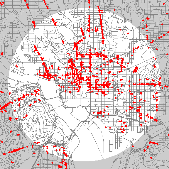 These Storefront Maps Show Which Parts Of Us Cities Are Most Lively