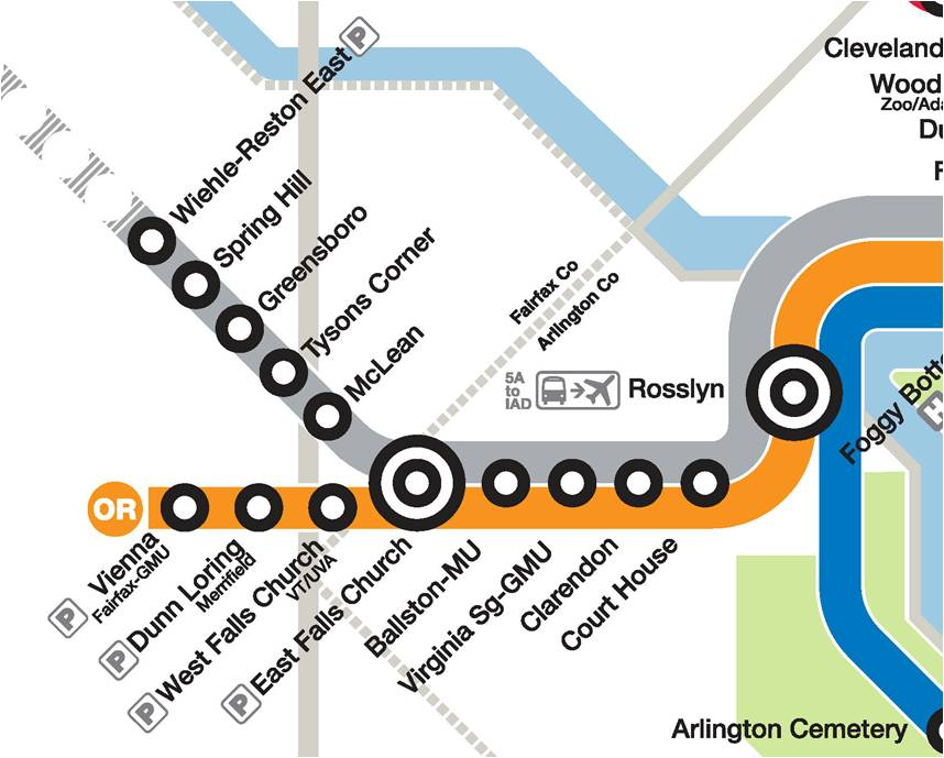 What Doy Calle The Thing That Has The Subway Map.What Would You Call Loudoun S Metro Stations Greater Greater