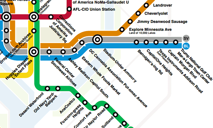 Madison Metro Map.Sell The Rights To Metro Station Names No Thanks Greater