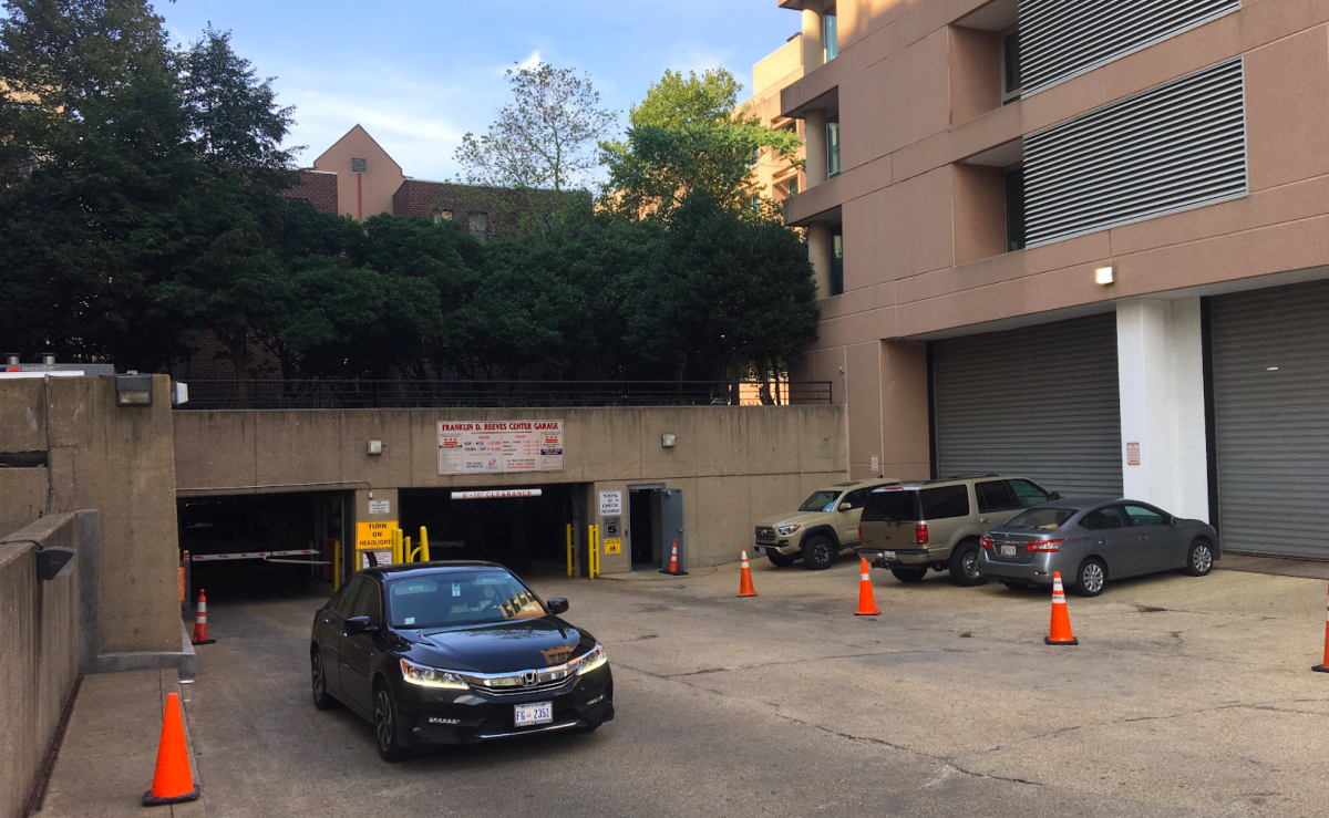 DC is incentivizing driving by subsidizing parking for its