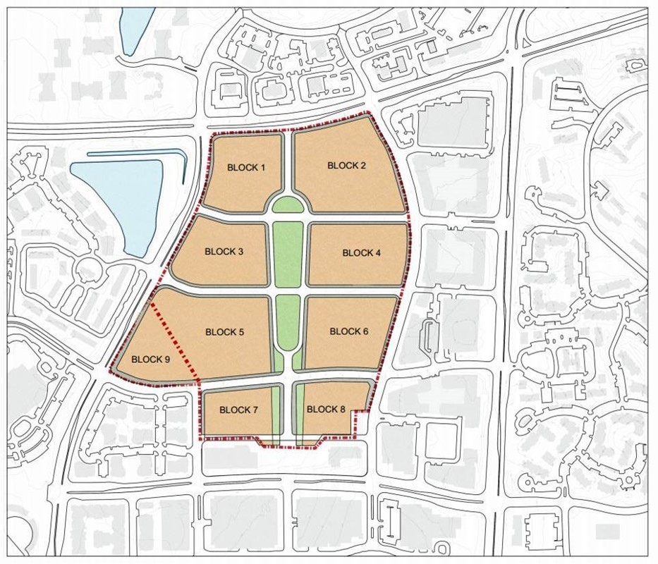 Reston Town Center Map: New Developments At Reston Town Center North Are Closer To