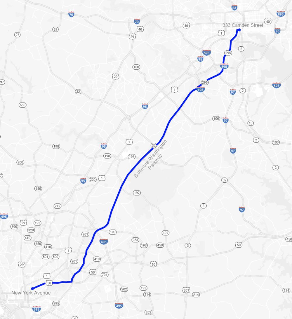 "Not quite Hyper: The Boring Company's DC-Baltimore ""Loop ... on comcast fiber optic map, fiber network map, dark fiber map, at&t wi-fi network map, fiber internet map, cox network map, comcast backbone map, centurylink territory map, comcast network map, verizon fiber optic map, fiber data infrastructure houston tx map, fiber optic grid map, cox communications territory map, centurylink fiber optic map,"