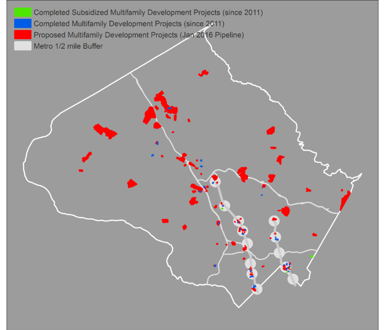 Montgomery County Rejects Incentives To Build More