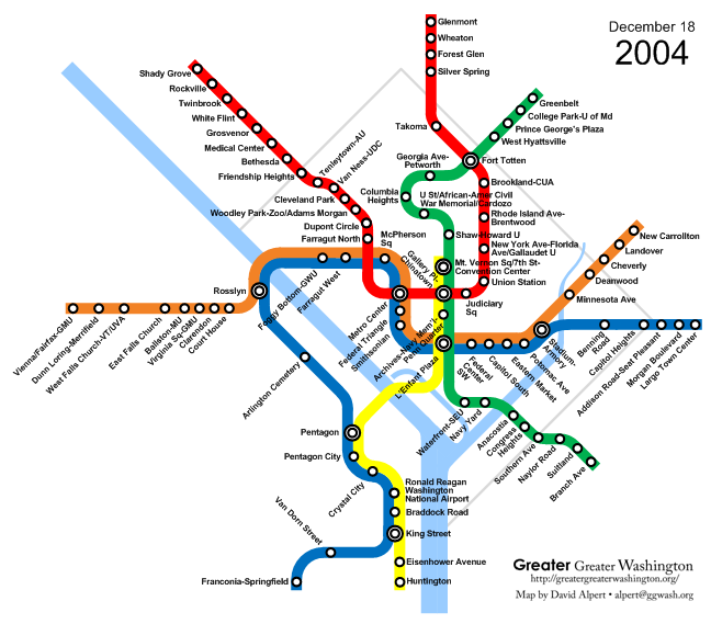 New York City Subway Map February 2004.Happy Birthday Metro Watch Metro S Evolution Since 1976 In This
